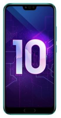 Смартфон Huawei Honor 10 64 Гб зеленый (51092UCA) все цены