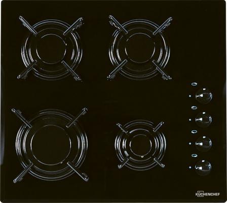 Газовая варочная поверхность Kuchenchef KHK600S черный цена и фото