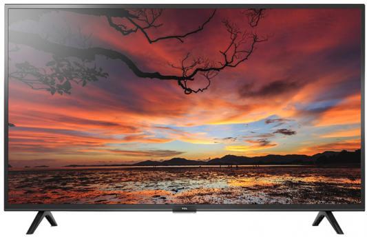 Фото - Телевизор TCL L43S6400 черный телевизор led 40 tcl led40d3000 черный 1920x1080 60 гц usb 2 х hdmi