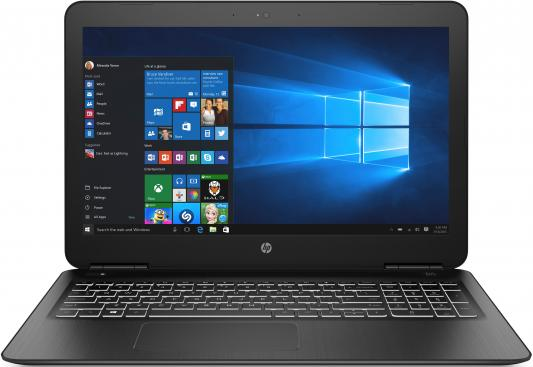 Ноутбук HP Pavilion Gaming 15-dp0015ur 15.6 1920x1080 Intel Core i5-8300H 1 Tb 128 Gb 8Gb nVidia GeForce GTX 1060 3072 Мб черный DOS 7BY19EA