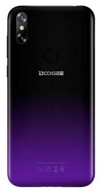 Смартфон Doogee X90L 16 Гб пурпурный