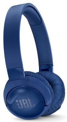 Наушники JBL Наушники беспроводные c шумоподавлением T600BT, 32 Ом, синий наушники jbl наушники беспроводные c шумоподавлением t600bt 32 ом синий