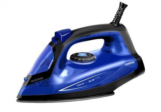 Утюг Centek CT-2360 1800Вт синий утюг centek ct 2348 violet 1800вт фиолетовый