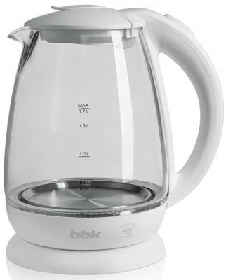 купить Чайник BBK EK1725G белый дешево