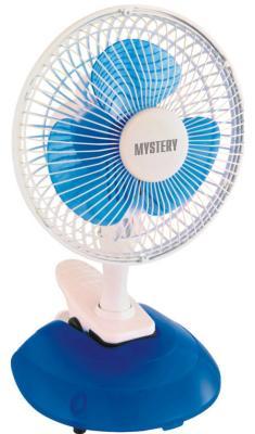 Вентилятор настольный MYSTERY MSF-2443 15 Вт синий/белый fan mystery msf 2404