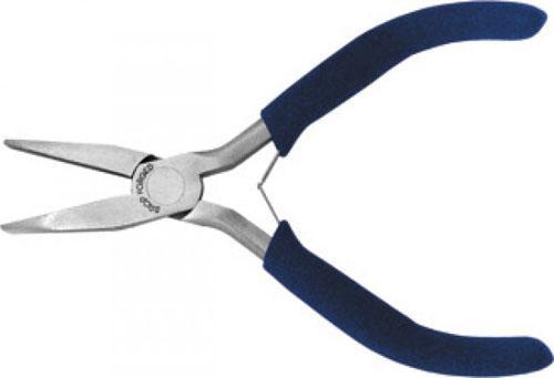 цена на Плоскогубцы FIT 51255 мини синяя ручка 125мм