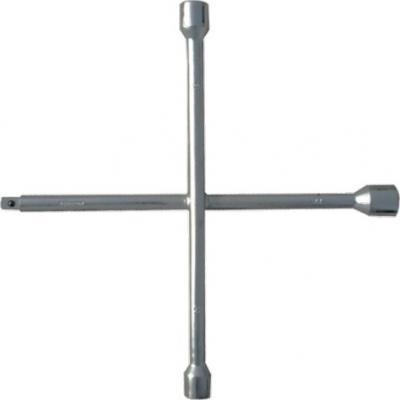 Ключ MATRIX 14245 крест баллонный 17х19х21мм квадрат 1/2 усиленный толщ. 16мм professional ключ крест баллонный 17 х 19 х 21 х 22 мм усиленный толщина 16 мм matrix professional
