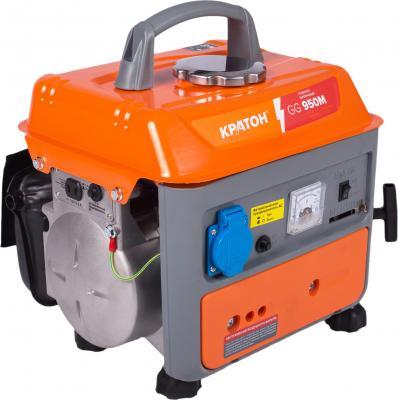 Бензиновый генератор КРАТОН GG-950M 700Вт 63см3 8.3а все цены