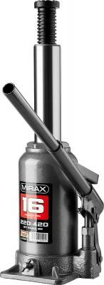 Фото - Домкрат MIRAX 43260-16 гидравлический бутылочный 16т 220-420мм кипятильник mirax 55418 05