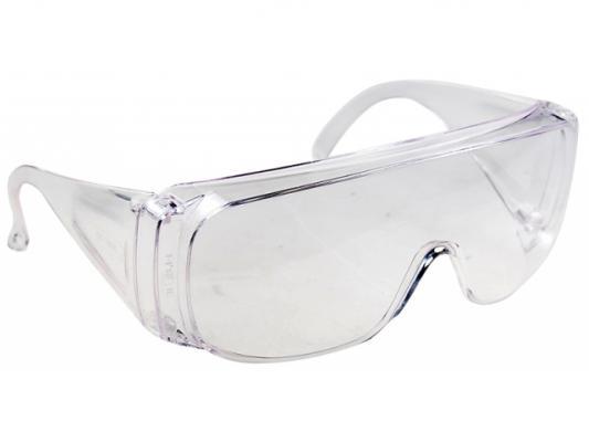 Очки СИБРТЕХ 89155 защитные открытого типа прозрачные ударопрочный поликарбонат