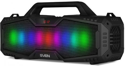 Колонка порт. Sven PS-480 черный 24W 1.0 BT/USB 10м 2000mAh из ремонта недорого