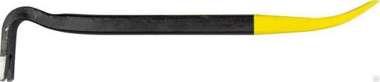 Лом-гвоздодер STAYER 21643-40 400 мм, 22х12 мм, кованый усиленный гвоздодер усиленный matrix 600х29х15 мм