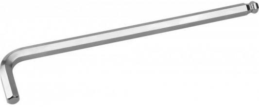 Ключ KRAFTOOL 27437-4 INDUSTRIE длинный c шариком, Cr-Mo, хромосатинированное покрытие, HEX 4