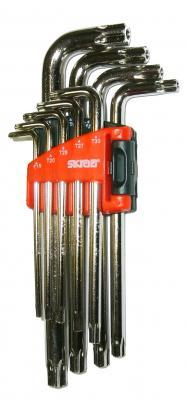 Картинка для Набор ключей SKRAB TORX Т15-Т55 9пр  CV длинные имбусовые с отверстием