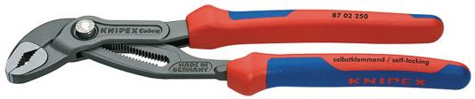Ключ KNIPEX KN-8702300 КОБРА универс. переставной клещи knipex kn 8701400 кобра