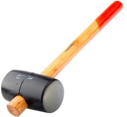 Киянка SPARTA 111405 резиновая 340г черная резина деревянная рукоятка цена в Москве и Питере