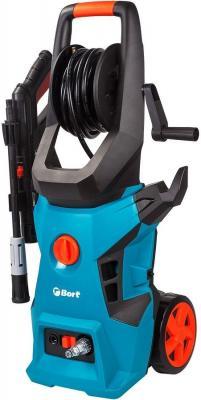 Bort BHR-2500R-Pro Мойка высокого давления [91276018] { 2400 Вт, максимальное давление 180 бар, рабочее давление 150 бар, 7,5 л/мин, 8,9 кг, набор аксессуаров 3 шт }