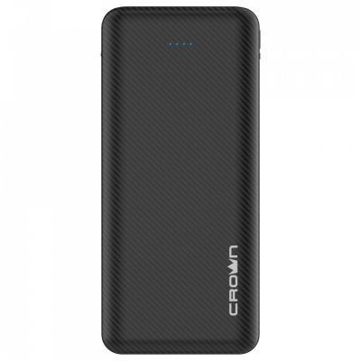 Crown Зарядное устройство CMPB-2003 black (power bank, 20000mAh, Li-Pol, входы: micro-USB/typec-C - выходы: 2*USB(A)+type-C QC3.0, PD18W) цена