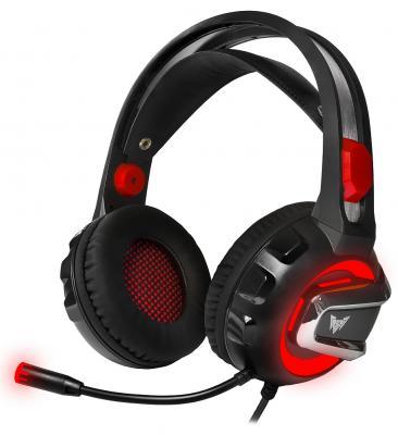 лучшая цена Игровая гарнитура проводная Crown CMGH-3000 черный красный