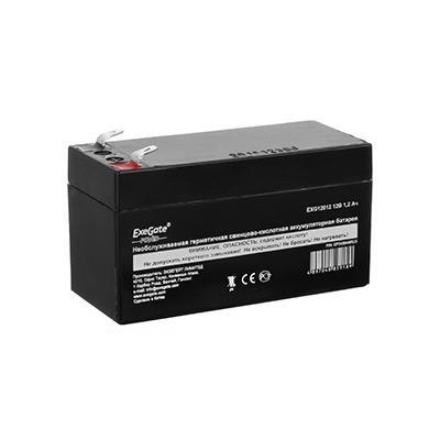 цена на Exegate EP269857RUS Аккумуляторная батарея Exegate Power EXG12013, 12В 1.3Ач, клеммы F1