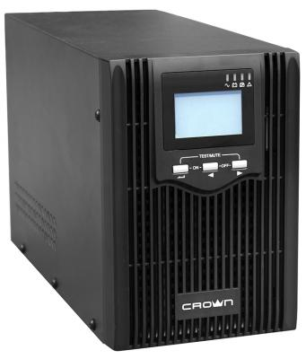 CROWN ИБП CMUS-615 {Line Interactive, 1500VA/1200W, розетки 3*IEC С13, LCD} [CM000001900]