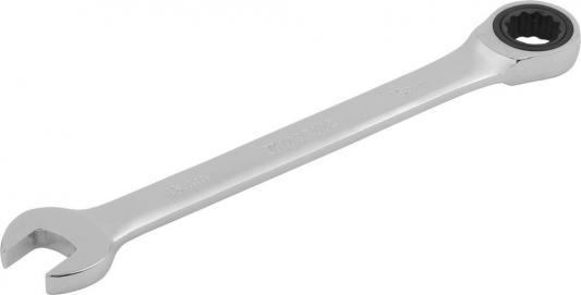 Ключ комбинированный KRAFTOOL трещоточный, Cr-V, зеркальное хромированное покрытие, 13мм [27230-13_z01] ключ дело техники комбинированный трещоточный 13 мм 515013