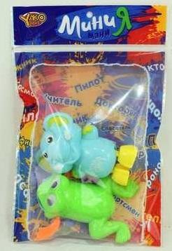 Набор игрушек для ванны best toys заводная