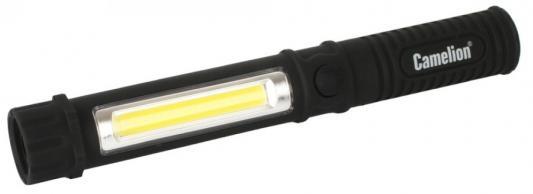 Camelion LED51521 (фонарь-ручка, COB LED+1W LED, 3XR03, пластик, магнит, клипса, блистер) цена