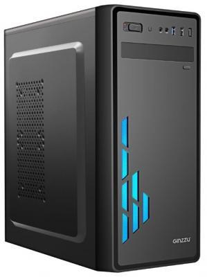 цена на Ginzzu E200 FAN Front 12СМ LED 1*USB 3.0,1*USB 2.0,AU w/o PSU