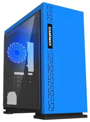 цена на Корпус microATX GameMax H605 Без БП синий H605 EXPEDITION BL