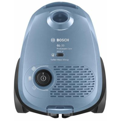 Пылесос Bosch BGB2UCARP сухая уборка синий строительный пылесос bosch gas 18v 10 l уборка сухая синий