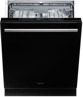 лучшая цена Посудомоечная машина Gorenje GV6SY21B 1760Вт полноразмерная черный