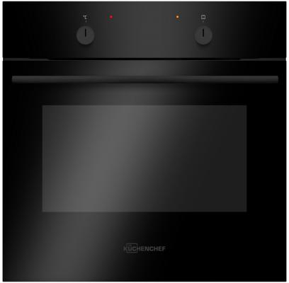Духовой шкаф Электрический Kuchenchef KBE640S черный kuchenchef khc600s черный