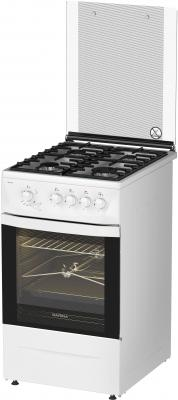 Плита Газовая Darina 1D1 GM 241 022 W белый газовая плита darina 1d1 км 241 311 w электрическая духовка белый