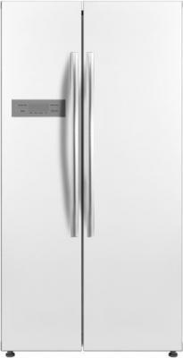 Холодильник Daewoo RSM580BW белый (двухкамерный) холодильник daewoo rnv 3610efh
