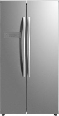 Холодильник Daewoo RSM580BS серый (двухкамерный) холодильник daewoo rnv 3610efh