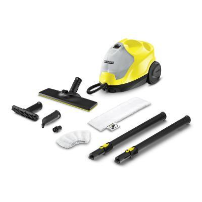 Пароочиститель напольный Karcher EasyFix SC 4 2000Вт желтый/черный цена и фото