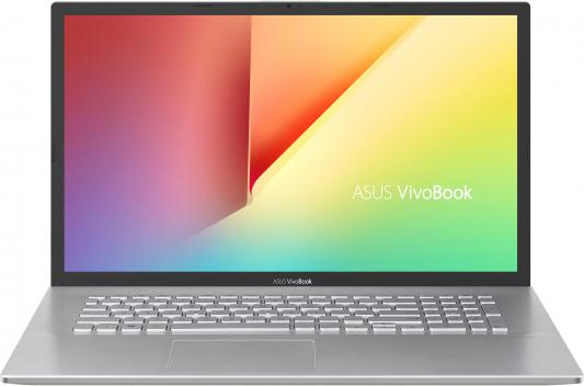 "Ноутбук Asus VivoBook X712FB-BX014T Core i5 8265U/8Gb/1Tb/SSD128Gb/nVidia GeForce Mx110 2Gb/17.3""/HD+ (1600x900)/Windows 10/silver/WiFi/BT/Cam"