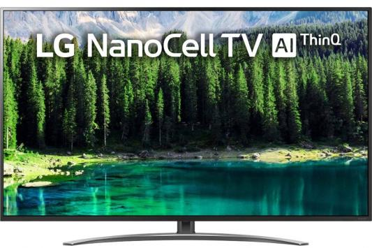 Телевизор LED LG 75 75SM8610PLA NanoCell титан/Ultra HD/200Hz/DVB-T/DVB-T2/DVB-C/DVB-S/DVB-S2/USB/WiFi/Smart TV (RUS)