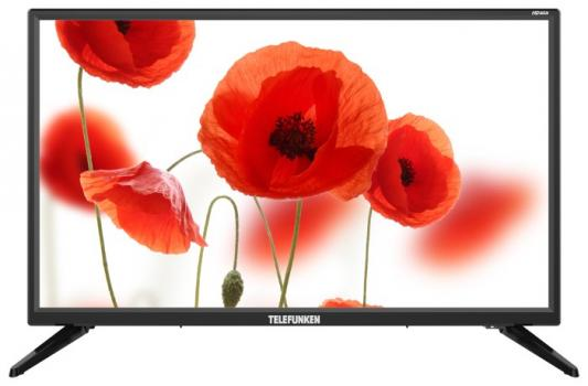 "Телевизор LED Telefunken 24"" TF-LED24S50T2 черный/HD READY/50Hz/DVB-T/DVB-T2/DVB-C/USB (RUS) телевизор led mystery 24 mtv 2428lt2 черный hd ready 50hz dvb t dvb t2 dvb c usb rus"