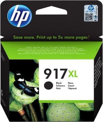 Картридж струйный HP 912 3YL85AE черный (1500стр.) для HP OfficeJet 802x картридж струйный hp c9391ae n 88xl cyan with vivera ink