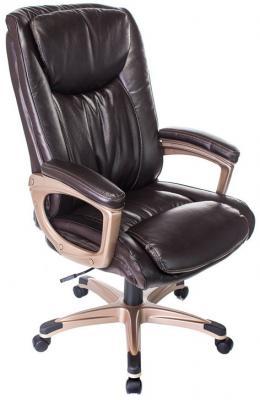 цена на Кресло руководителя Бюрократ T-9914/BROWN коричневый