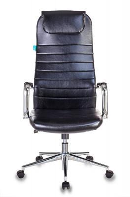 Кресло руководителя Бюрократ KB-9N/ECO/BLACK чёрный кресло руководителя бюрократ kb 8 синий
