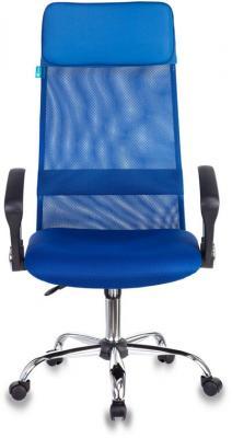 Кресло руководителя Бюрократ KB-6N/SL/BL/TW-10 синий кресло руководителя бюрократ kb 8 синий