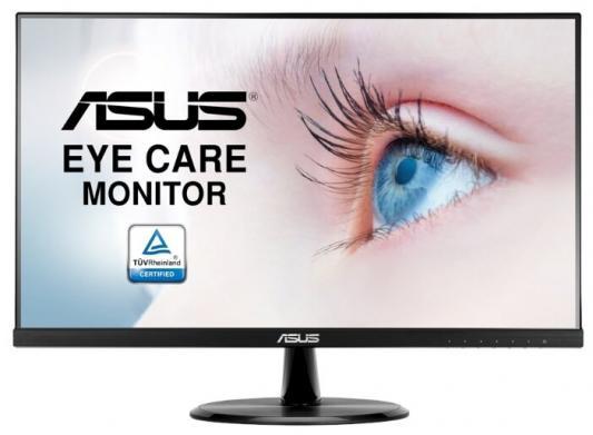 """Монитор Asus 23.8"""" VP249HE черный IPS 16:9 HDMI M/M матовая 1000:1 250cd 178гр/178гр 1920x1080 D-Sub FHD 3.61кг фото"""