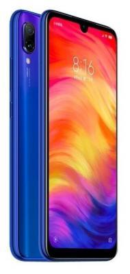 Смартфон Xiaomi Redmi Note 7 64 Гб синий смартфон xiaomi redmi 6 64 гб синий