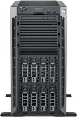 Сервер Dell PowerEdge T440 1x4108 2x16Gb x16 1x1.2Tb 10K 2.5 SAS RW H730p FP iD9En 1G 2P 2x495W 3Y NBD (T440-5932-1)