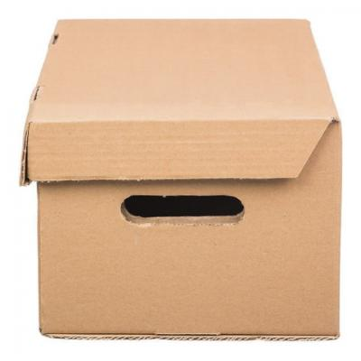 "цена Короб архивный ""Делопроизводство"" BRAUBERG (18х32,5х23,5 см), откидная крышка, бурый онлайн в 2017 году"