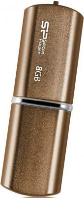 Внешний накопитель 8GB USB Drive <USB 2.0> Silicon Power LuxMini 720 Bronze внешний накопитель 16gb usb drive &lt usb 2 0&gt silicon power luxmini 322 black sp016gbuf2322v1k