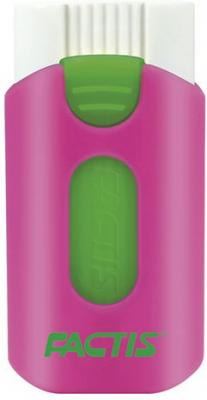 Резинка стирательная FACTIS SUIT (Испания), пластиковый держатель, 53x25x12 мм, ПВХ, ассорти, PTF1330